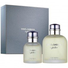 Dolce &Gabanna light blue puor homme set